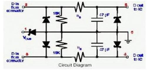耳机锂电池保护板电路图